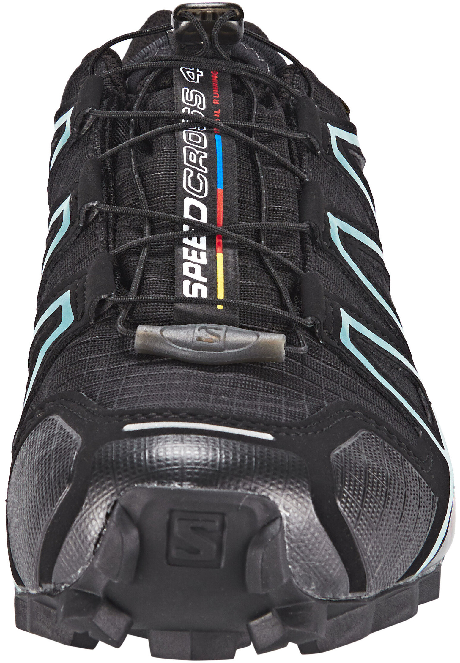 763a35a8ed3 Salomon Speedcross 4 GTX Hardloopschoenen Dames, black/black/metallic  bubble blue